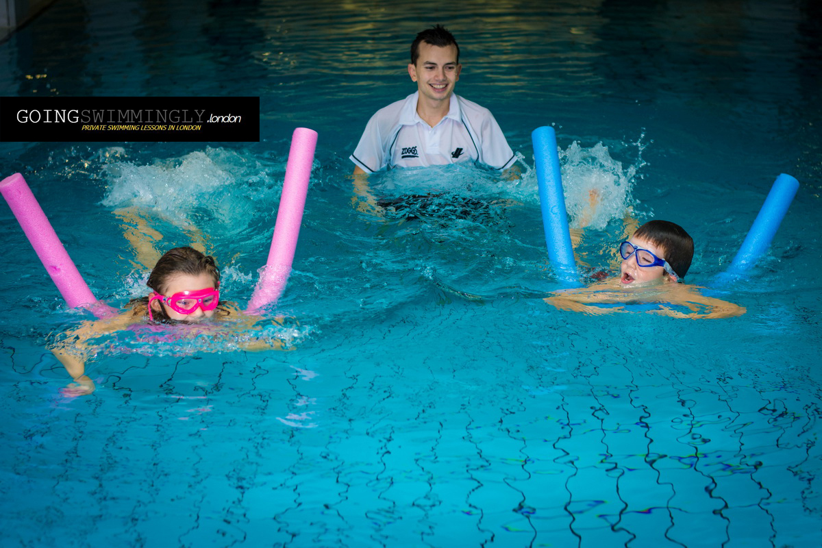 swimming lessons for kids and children